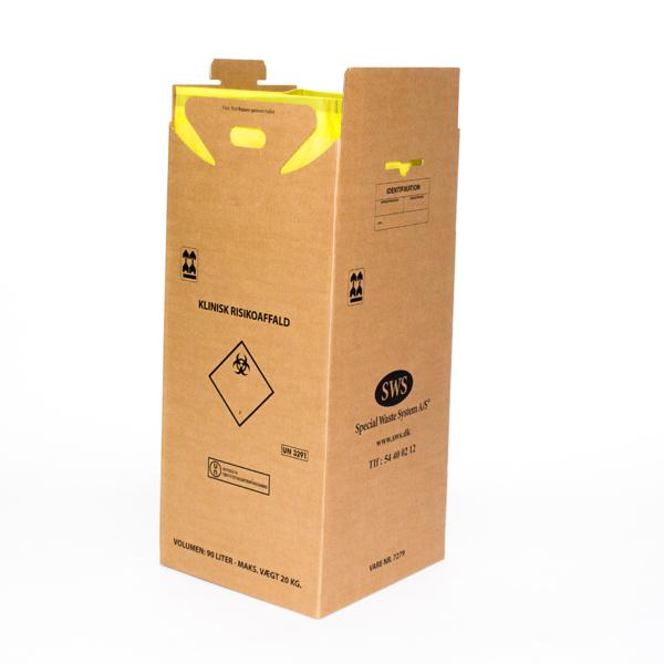 Apotekerboks til klinisk risiko affald Special Waste System