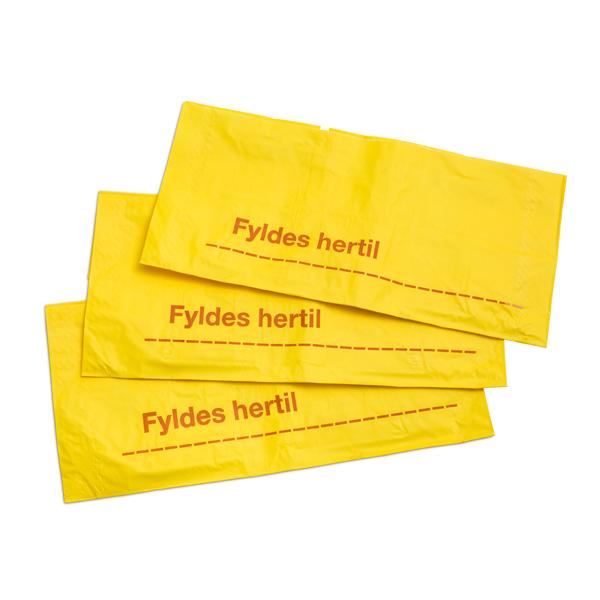 Papirsække til farligt risikoaffald